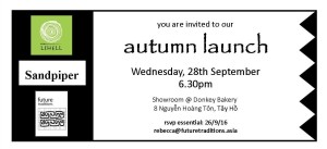 Launch invitation