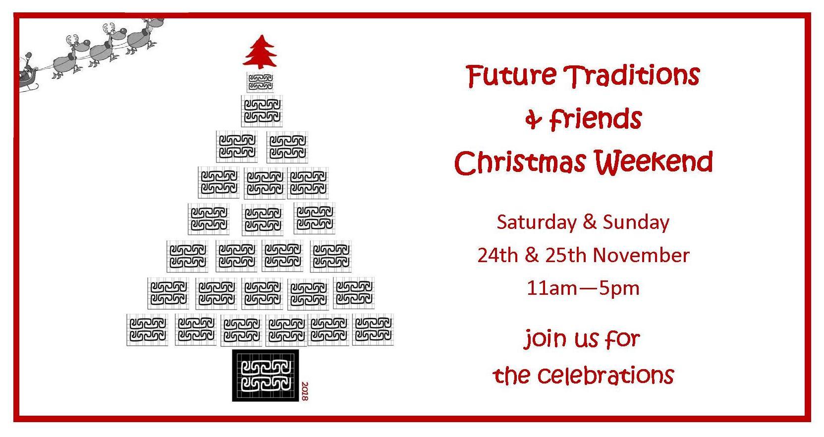 Christmas weekend invite